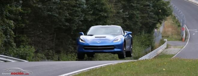 El nuevo Chevrolet Corvette Stingray cata el circuito de Nürburgring