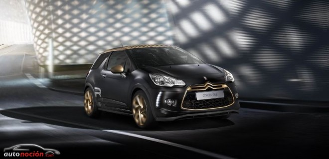 El Citroën que reluce como el oro: DS3 Racing Gold Mat