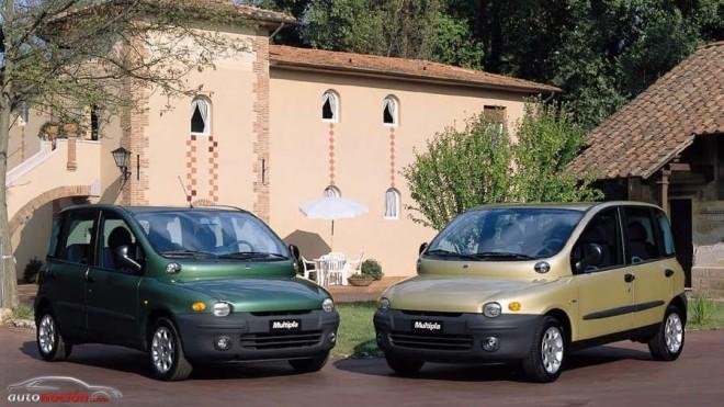 ¿Te acuerdas de… las dos generaciones de Fiat Multipla?