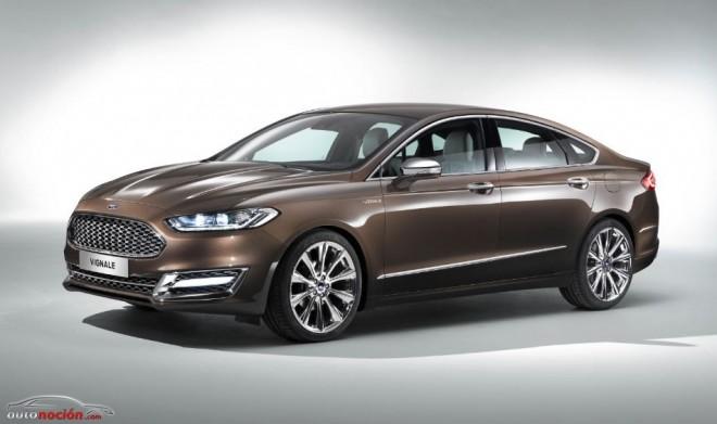 La Primera Clase de Ford se llamará Vignale y llegará en 2015 con el nuevo Mondeo