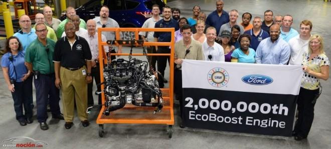 Ford fábrica su motor EcoBoost número 2 millones