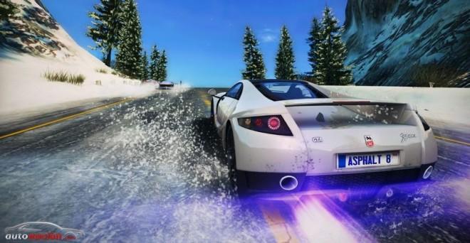 """GTA Spano en el juego """"Asphalt 8: Airborne"""""""