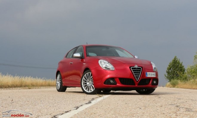 Prueba Alfa Romeo Giulietta 1.4 TB 170cv MULTI-AIR TCT: Estilo Italiano con forma de hatchback