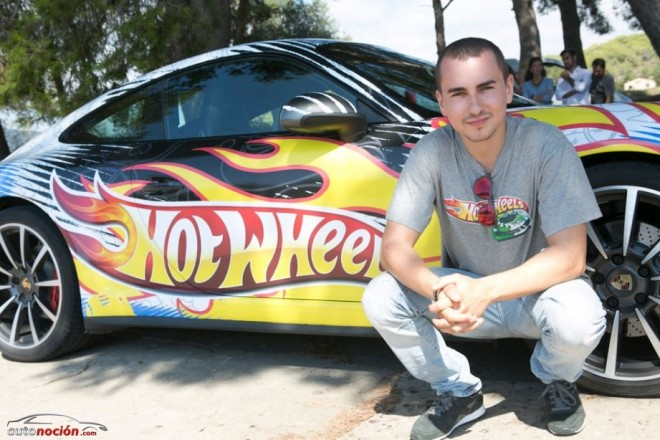 Jorge Lorenzo a bordo de un Hot Wheels