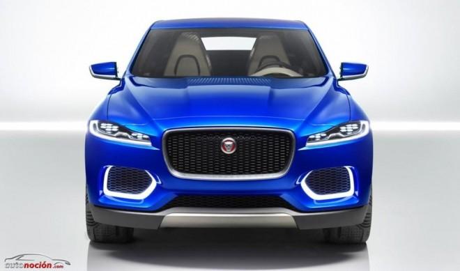 Así es la cara del C-X17, el primer SUV de Jaguar
