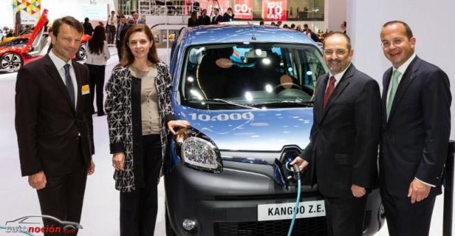 Más de 10.000 Renault Kangoo Z.E