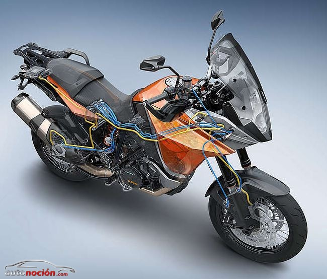 KTM 1190 Adventure ABS curva