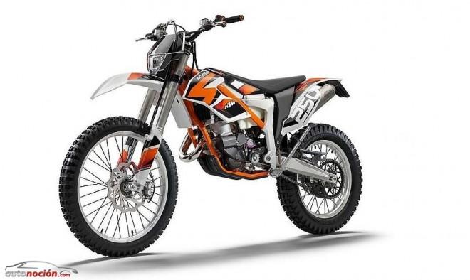 Nueva KTM Freeride 250 R de 2T