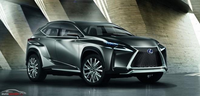 Lexus LF-NX: Un SUV compacto por debajo del RX