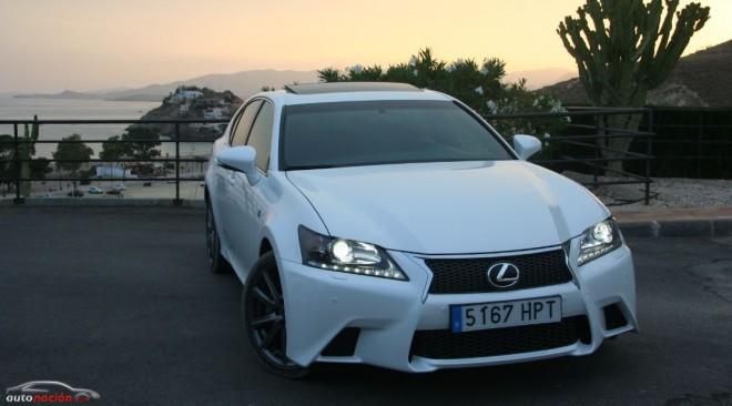 Prueba Lexus GS 250 F Sport: Elegancia y deportividad van de la mano