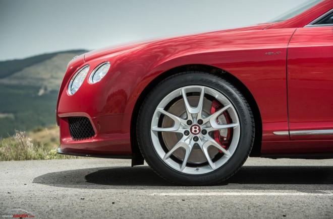 Bentley planea un competidor del BMW M6 Gran Coupé y del Mercedes-Benz CLS63 AMG