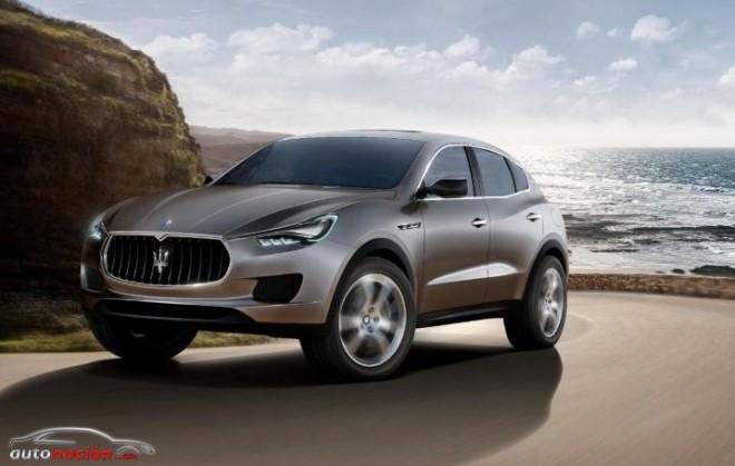 El Maserati Levante se llevará a producción a finales de 2014