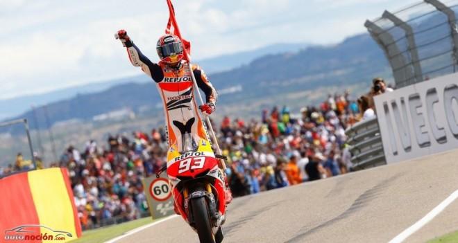 Márquez le gana el pulso a Lorenzo en Motorland