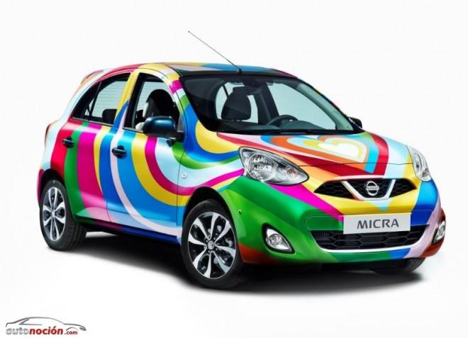 El Nissan Micra Agatha Ruiz de la Prada ya esta aquí