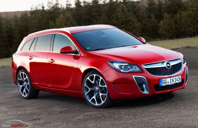 Nuevo Opel Insignia OPC: papá también quiere divertirse