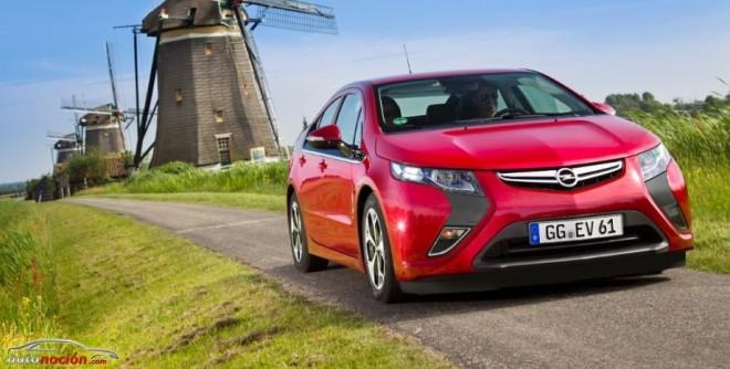Ahora el Opel Ampera a un precio más bajo