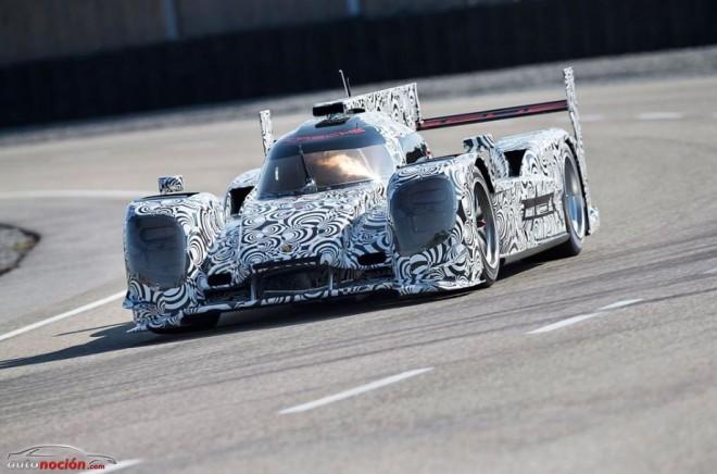 Primeras pruebas con el Porsche LMP1