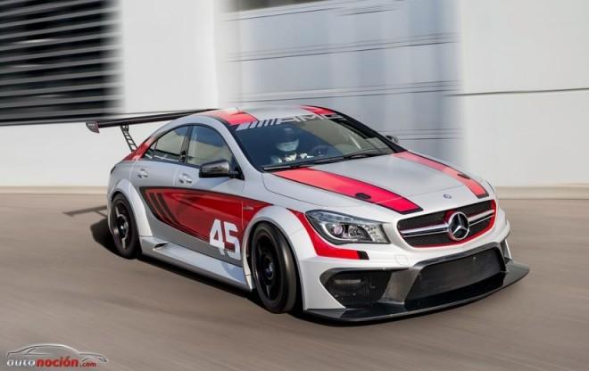 CLA 45 AMG Racing Concept Series: El futuro de los equipos de competición