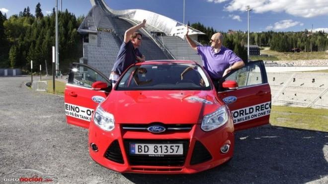 Recorren 1600 km sin repostar en un Ford Focus EcoBoost 1,0