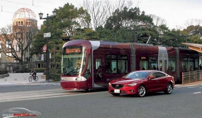 Los nuevos Mazda se comunicarán con los tranvías para evitar accidentes
