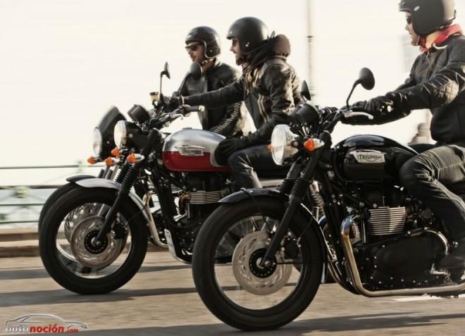 Triumph clásicas, aspecto retro con tecnología actual