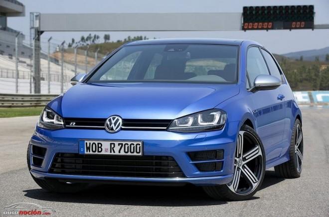 Más imágenes del Volkswagen Golf VII R: Así son los detalles