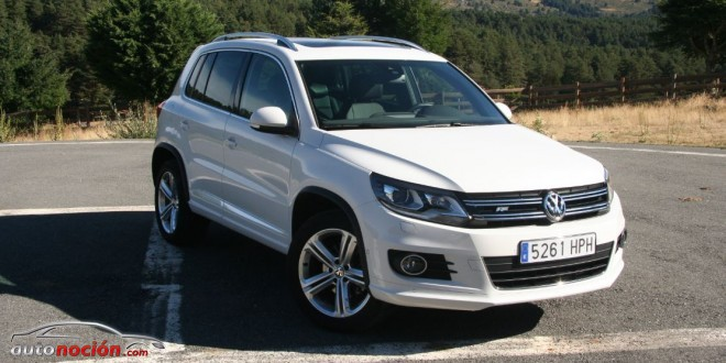 probamos el vw tiguan r line en su versi n 2 0 dsg de 177 cv. Black Bedroom Furniture Sets. Home Design Ideas