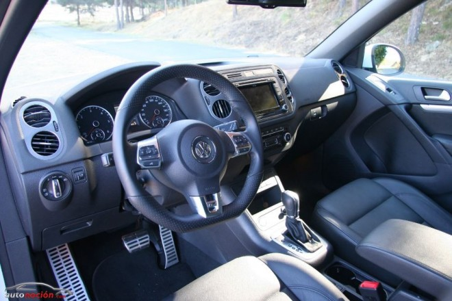 Probamos el VW Tiguan R-Line en su versión 2.0 DSG de 177 cv