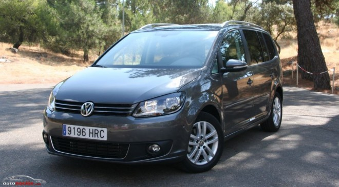 Prueba Volkswagen Touran 1.6 TDi 7 vel. DSG: 100% funcional