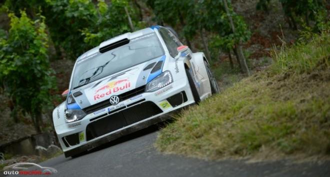 Mikkelsen líder en el Rallye de Australia