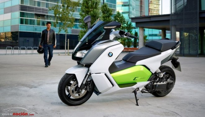 Elige la opción C: nuevo BMW C evolution