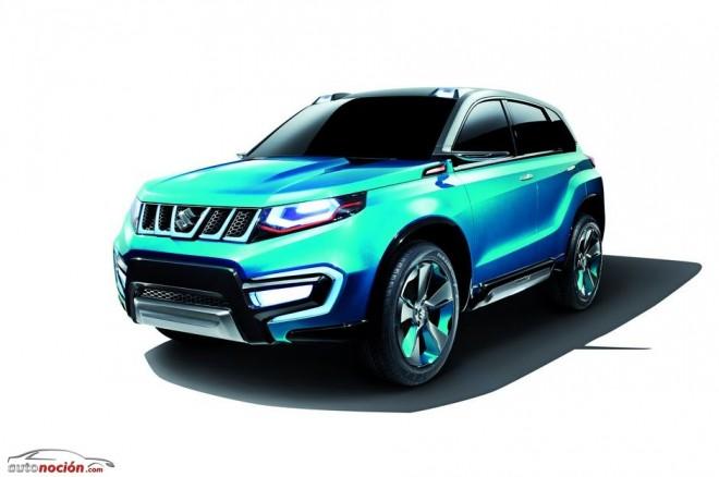 El nuevo concept SUV de Suzuki en Frankfurt: iV-4