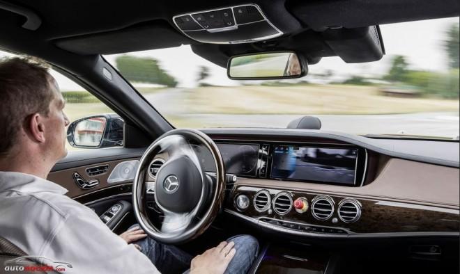 El Mercedes-Benz que se conduce solo