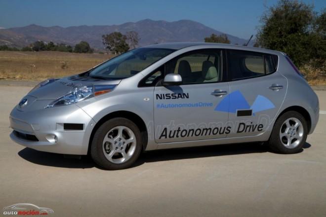 El Nissan que conduce solo