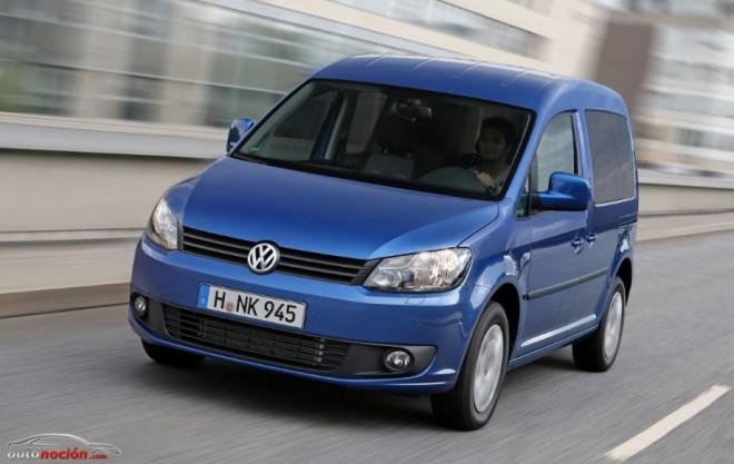 Estreno mundial de la nueva Volkswagen Caddy Bluemotion