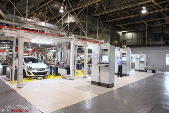 Mejoras en la Planta de Opel en España