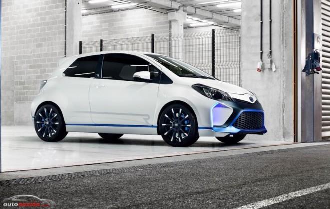 Toyota Yaris Hybrid-R con 420 CV