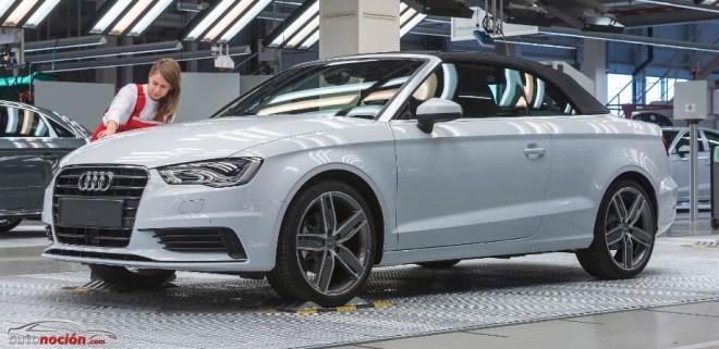 Arranca la producción del nuevo Audi A3 Cabrio