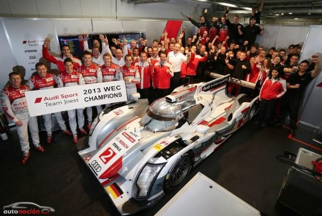Audi gana el Mundial de Resistencia y el Campeonato por Equipos en la DTM