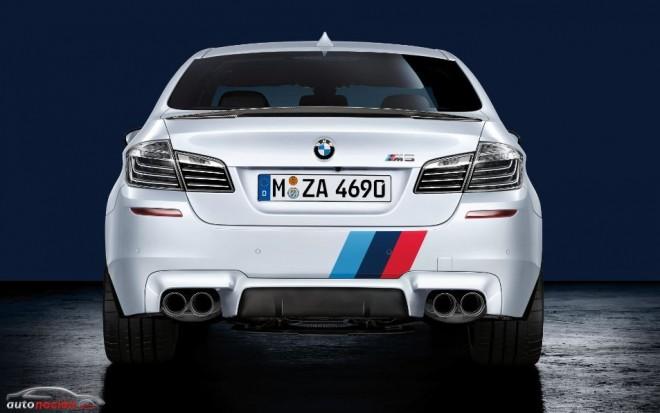 Así son algunos componentes de BMW M Performance