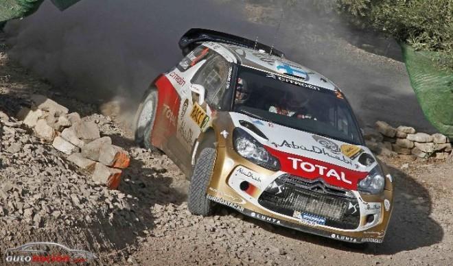 Hirvonen tercero en el podio de Cataluña