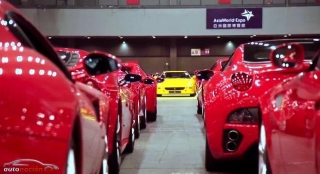 El 30 aniversario de Ferrari en Hong Kong nos deja la mayor concentración de la marca en Asia