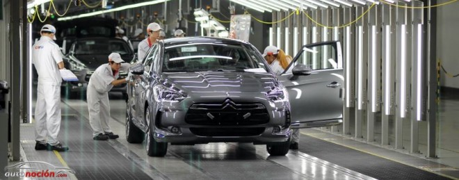 El DS5 ya se fabrica en la planta china de Shenzhen