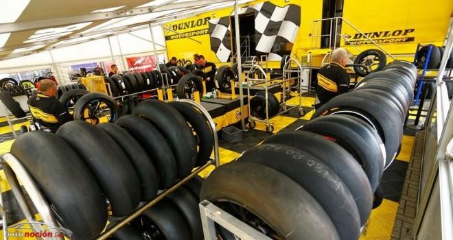 Dunlop trae a Australia un neumático trasero asimétrico para Moto2