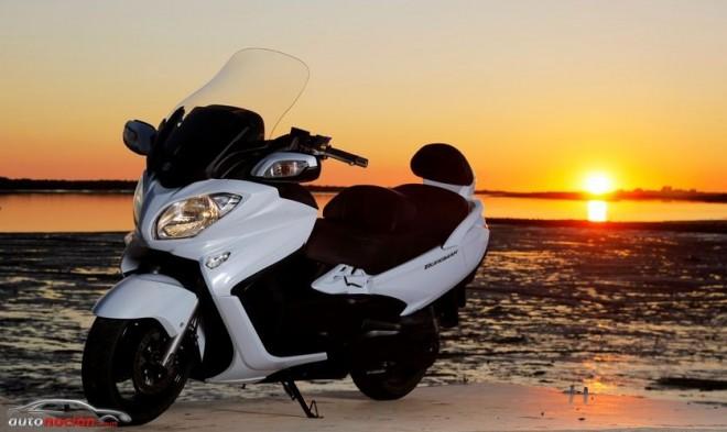 Suzuki ofrece 4 años de garantía para la Burgman