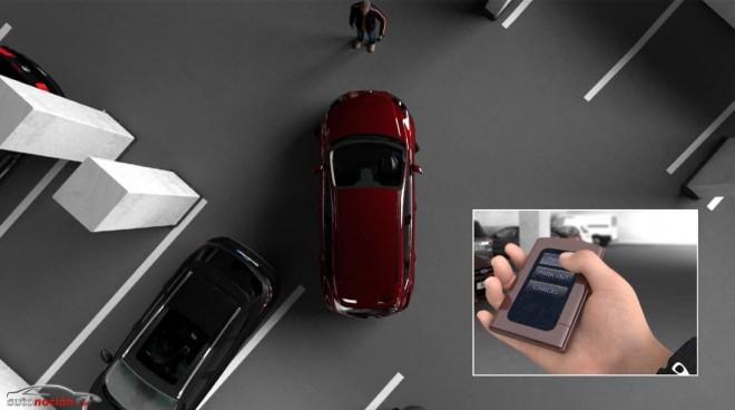 Aparcar desde fuera del vehículo: Nuevo sistema de Aparcamiento Automático de Ford
