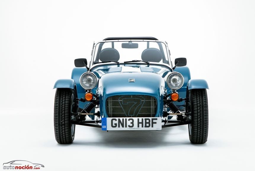Frontal Caterham Seven 160