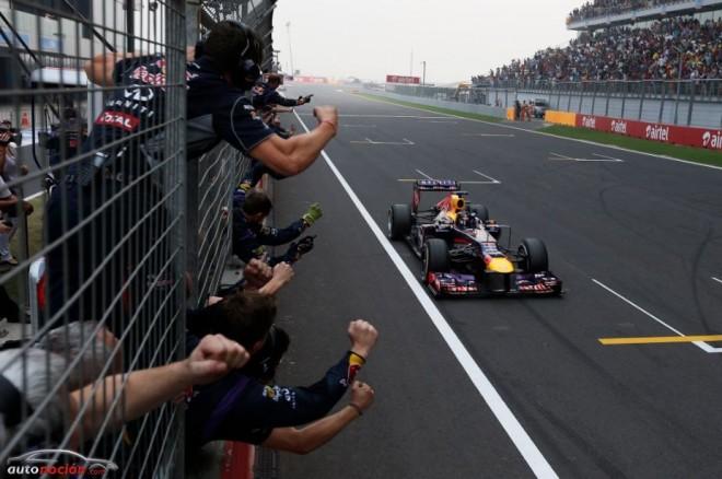 Vettel entra en la historia tras lograr su cuarta corona en la F1