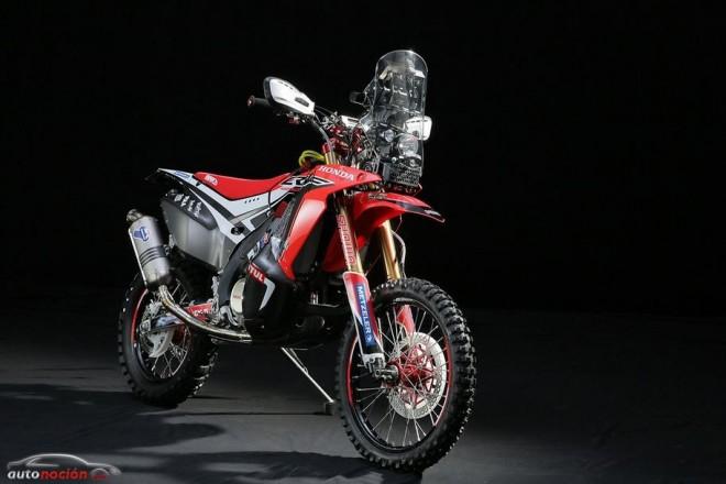 Honda presenta el modelo del Rally Dakar: la CRF450 RALLY