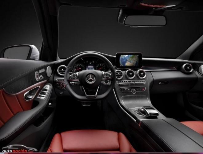Así es el interior de la nueva Clase C de Mercedes-Benz